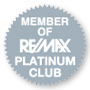 RE/MAX Platinum Club Club Member